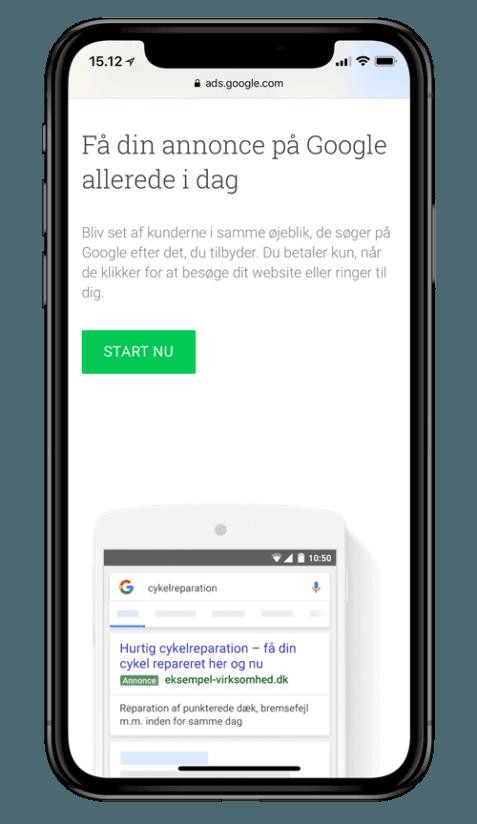 Få din annonce på Google Ads i dag gennem Search Partners