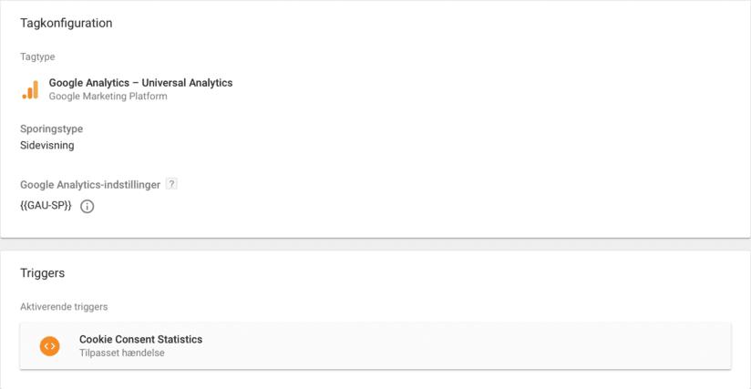 Tagkonfiguration af sidevisninger i Google Tag Manager