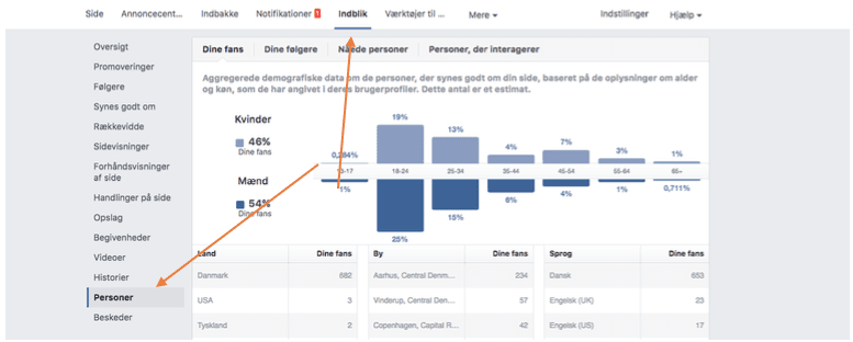 Facebook demografi