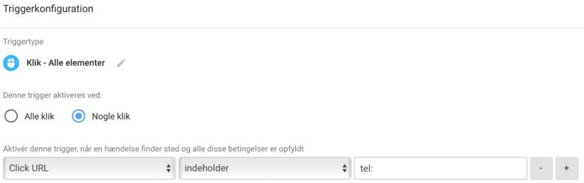Opsætning af sporing på klik på telefonnumre i Google Tag Manager